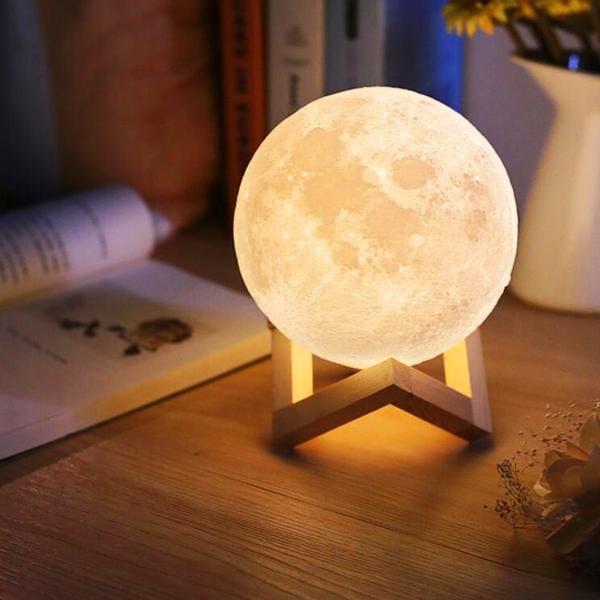 Lampe Féérique Féérique Lune Lune Découvertes Découvertes 12cmNatureamp; 12cmNatureamp; Lampe Lune Lampe lJTFK1c