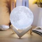 Lampe lune féérique 18cm