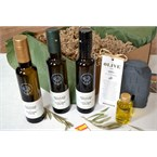 Coffret bio tres-or huiles d'olives