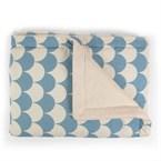 Couverture blue scales - 70x80