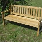 Banc de jardin bois traité 4 personnes
