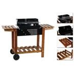 Barbecue à charbon etretat - bois