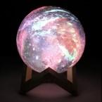 Lampe veilleuse galaxie féérique