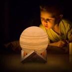 Lampe veilleuse féérique Jupiter