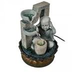 Fontaine a eau - bonze bouddhiste