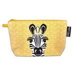 Trousse en coton bio zebre