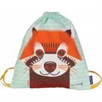 Sac à dos enfant en coton bio panda roux