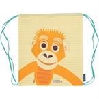 Sac à dos enfant  coton bio orang-outan