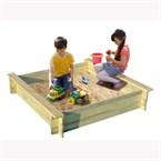 Bac a sable loeva en bois pour enfants