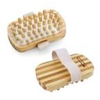 Brosse de massage et drainage en bambou