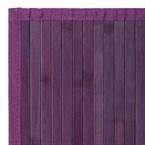 Tapis bambou violet - couleur : violet -