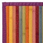 Tapis bambou multicolore - couleur : mul