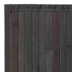 Tapis bambou gris - couleur : gris - tai