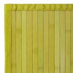 Tapis bambou vert - couleur : vert - tai