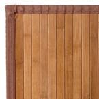 Tapis bambou naturel - couleur : naturel