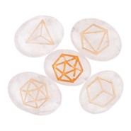 Kit de pierres des 5 éléments
