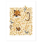 Affiche moderne tigre