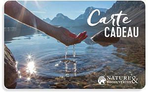 Carte Cadeau Nature & Découvertes